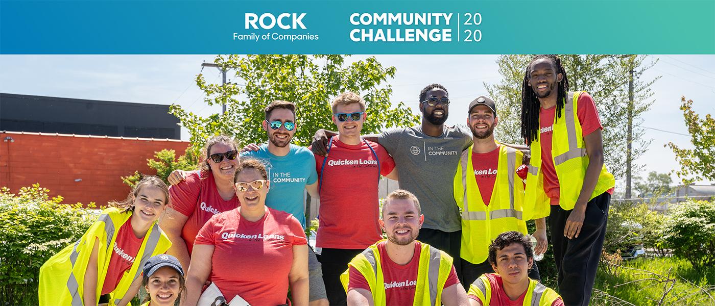 2020 Rock FOC Community Challenge team members
