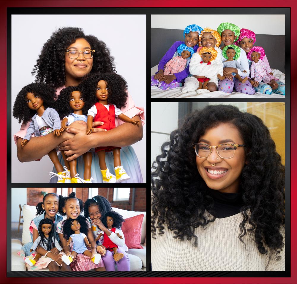 Yelitsa Jean-Charles of Healthy Roots Dolls